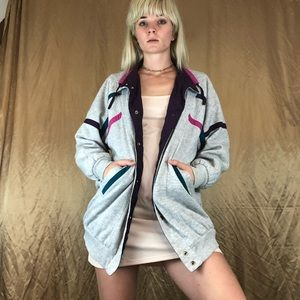 Vintage reversible jacket windbreaker 1990s